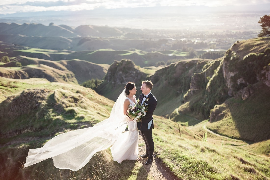 Melissa & Todd, Craggy Range Winery Wedding, Hawke's Bay | meredithlord.com