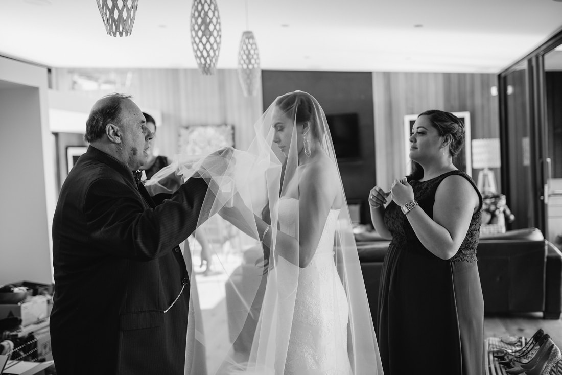 Jackie & Vance, Craggy Range Winery Wedding, Hawke's Bay | meredithlord.com