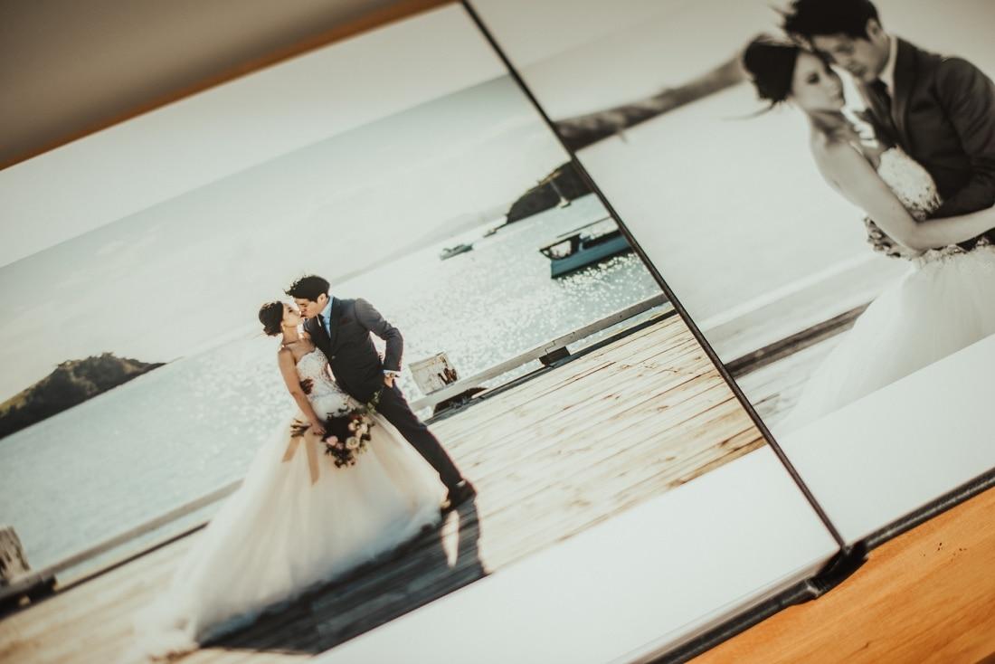 Mei & Joshua - Auckland & Waiheke Island Pre-Wedding Queensberry Photo Album