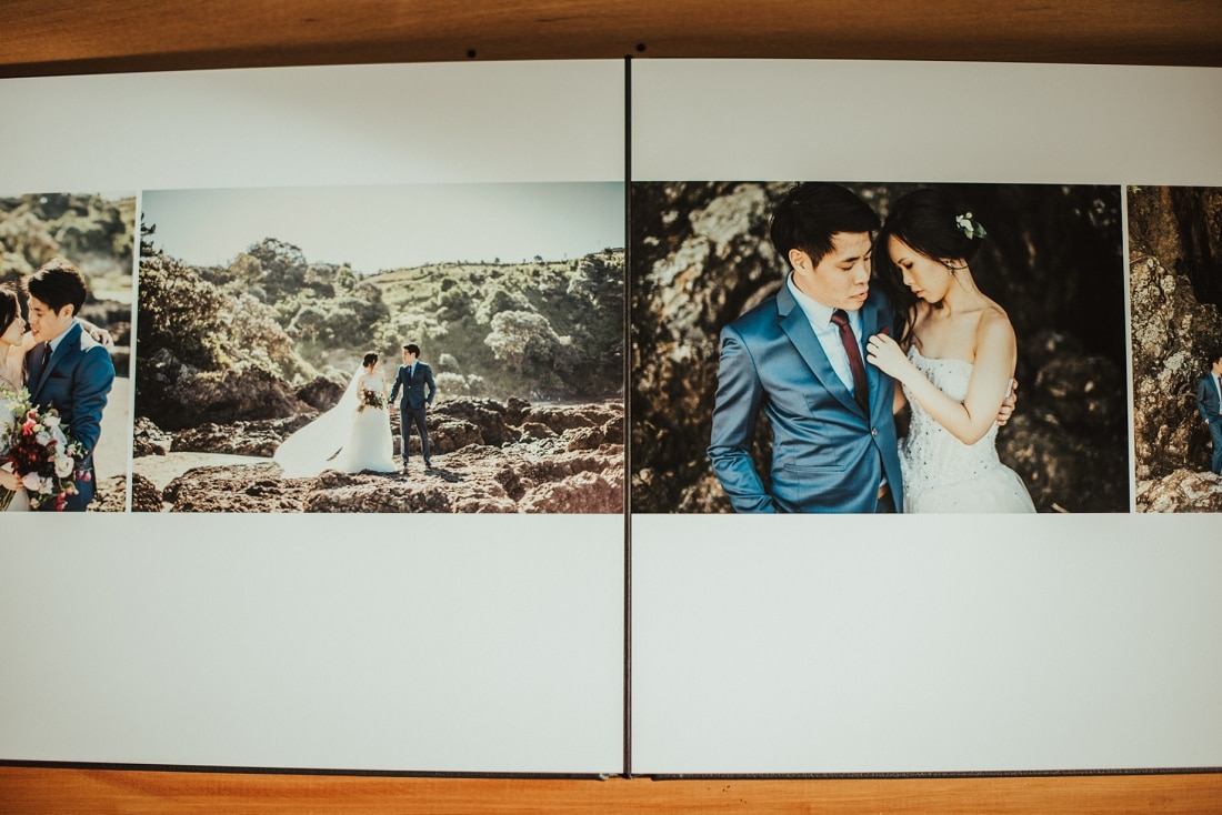 Mei & Joshua - Auckland & Waiheke Island Pre-Wedding Queensberry Photo Album