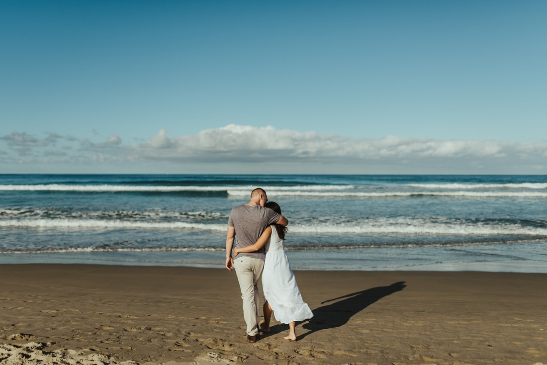 Stacey & Chris - Engagement Session, Ocean Beach, Hawke's Bay | www.meredithlord.com