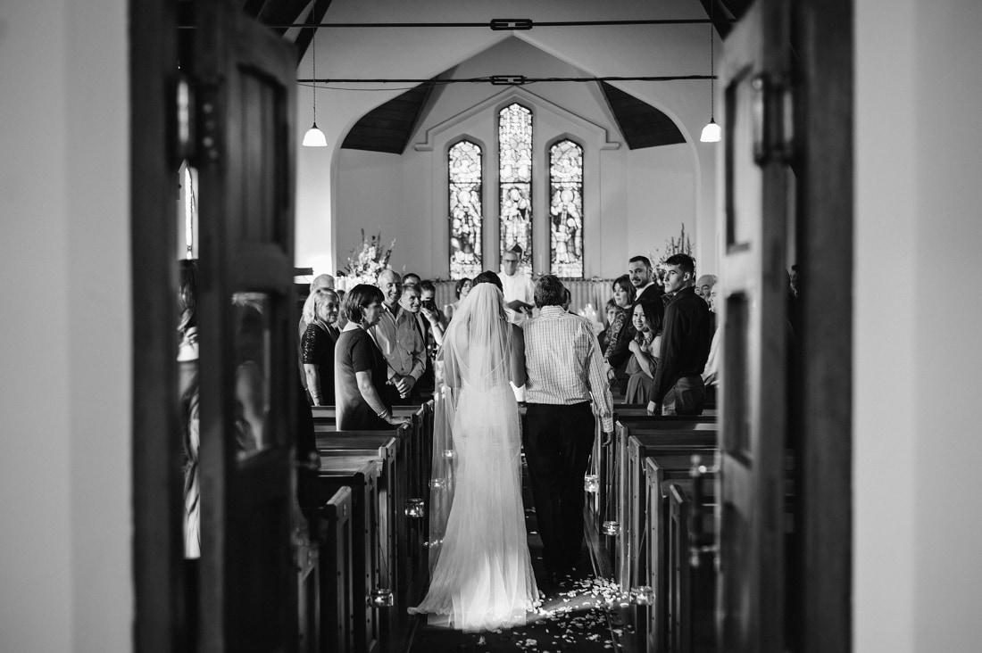 Sarah & Brad - Eskdale Church & Mission Estate Winery Wedding | www.meredithlord.com