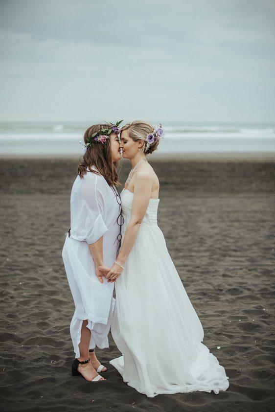 Jasmine & Mary - Castaway's, Auckland Wedding | www.meredithlord.com