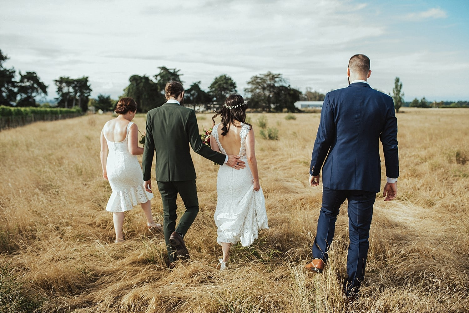 Tash & Matt - Red Barrel Winery Wedding, Hawke's Bay | www.meredithlord.com