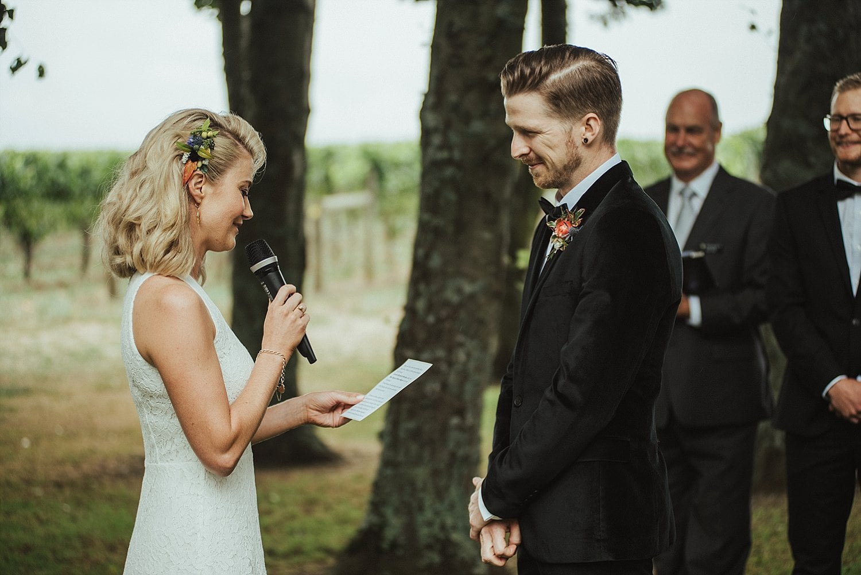 Sarah & Max - Te Awa Winery Wedding, Hawke's Bay | www.meredithlord.com
