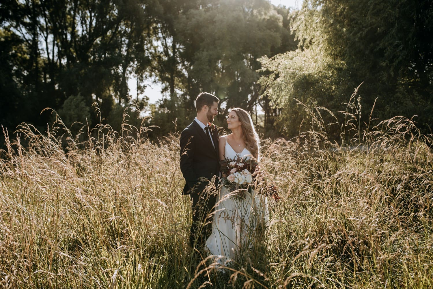 Steph & Matt - The Old Church, Hawke's Bay, Wedding | www.meredithlord.com