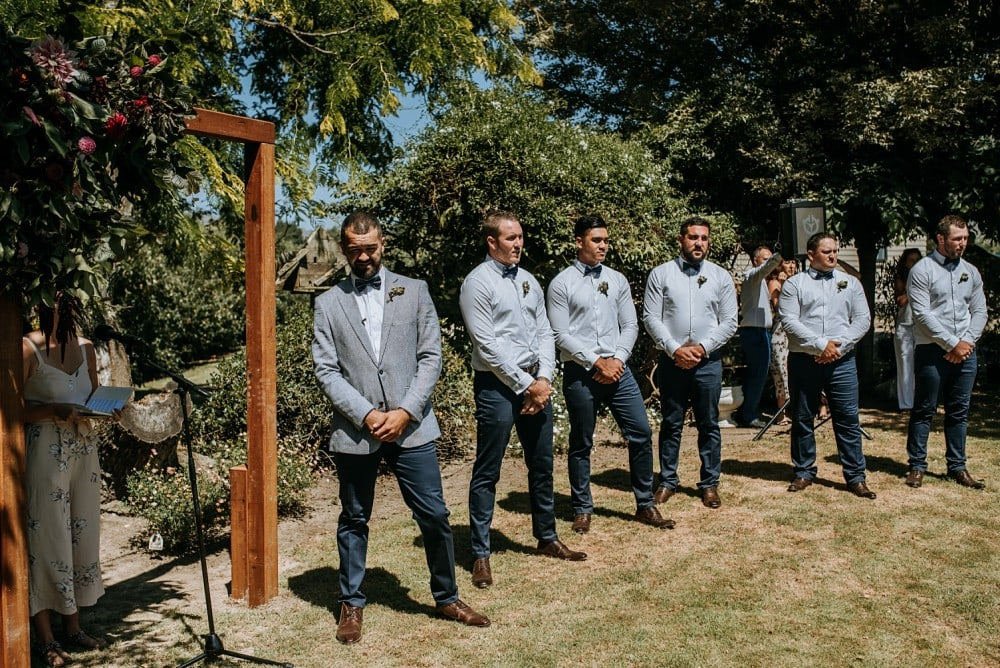 Briar & Mike - Backyard Tipi Wedding, Hawke's Bay | www.meredithlord.com