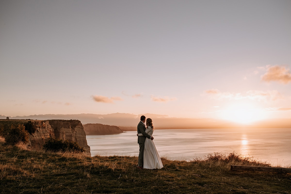 The Farm at Cape Kidnappers Elopement | www.meredithlord.com